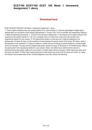 homework assignment week 1 Handout 1 (administrative information) pdf file handout 2 (course description)  pdf file handout 3 (lecture notes for week 1, 3/31/09) pdf file handout 4 ( homework 1, due 4/14/09) pdf file  homework assignments.