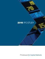 2016 IPO STUDY