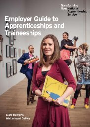 Apprenticeships and Traineeships