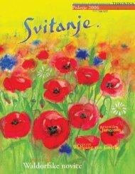 Revija Svitanje - Poletje 2006