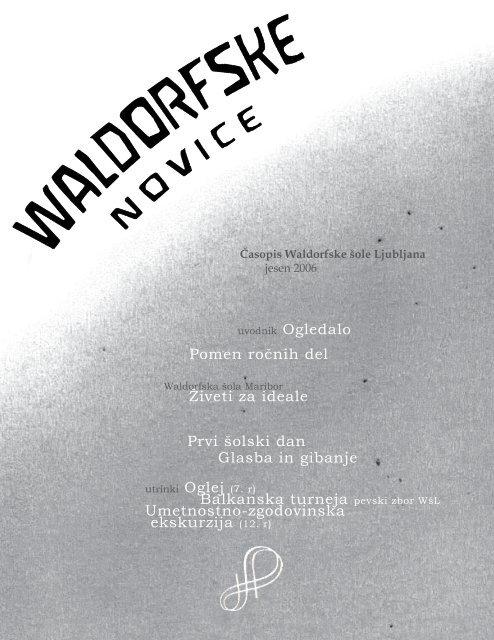 Waldorfske novice - Jesen 2006