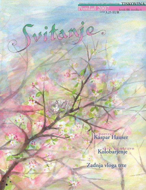 Revija Svitanje - Pomlad 2007