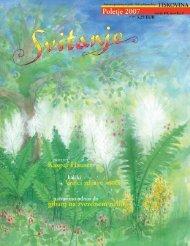 Revija Svitanje - Poletje 2007