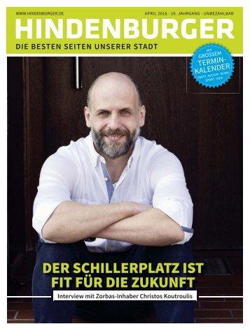 Hindenburger Ausgabe April 2016