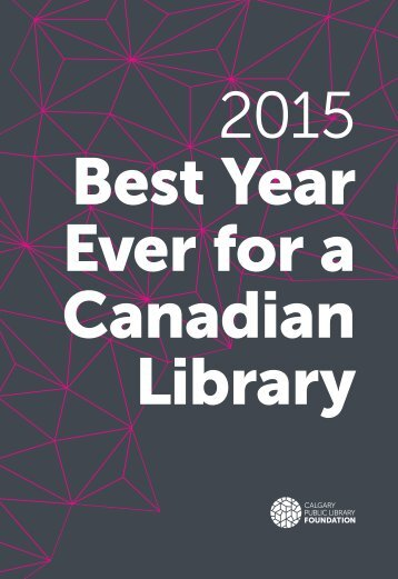 2015 Best Year Ever for a Canadian Library