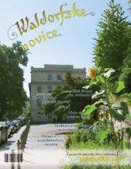 Waldorfske novice - Poletje 2008