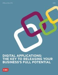 DIGITAL APPLICATIONS THE KEY TO RELEASING YOUR BUSINESS'S FULL POTENTIAL