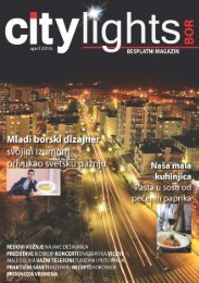 Citylights Bor No1 april 2016