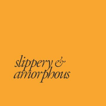 Slippery-and-Amorphous-catalogue