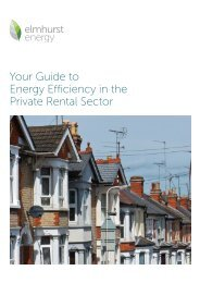 Your Guide to Energy Efficiency in the Private Rental Sector