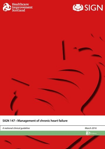 SIGN 147 • Management of chronic heart failure
