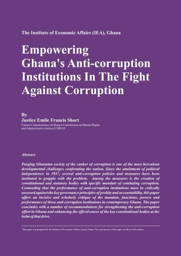 Against Corruption