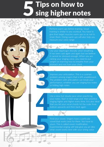 5 Tips On How To Sing Higher Notes