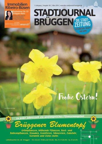 Balkonpflanzen märz  Stadtjournal Brüggen März 2017