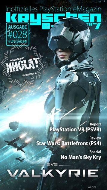 Inoffizielles PlayStation eMagazin KRYSCHEN #028