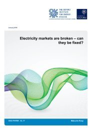 Electricity markets are broken – can they be fixed?