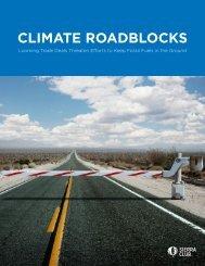 CLIMATE ROADBLOCKS
