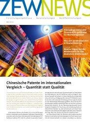 Chinesische Patente im internationalen Vergleich – Quantität statt Qualität