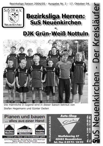 SuS Neuenkirchen - Der Kreisläufer - SuS 09 Neuenkirchen e.V.