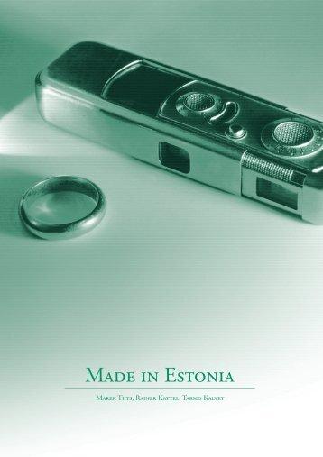 Made in Estonia - Software Department