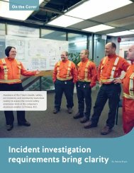 Incident investigation requirements bring clarity
