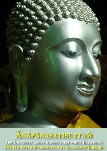 Ānāpānasatisuttaṁ, The Discourse about Mindfulness while Breathing