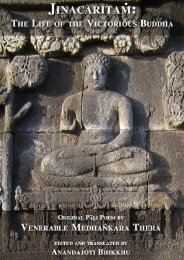 Jinacaritaṁ: The Life of the Victorious Buddha