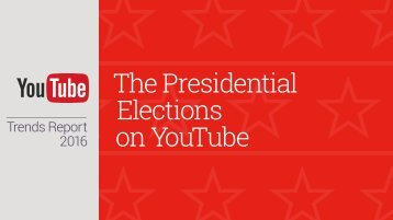 The Presidential Elections on YouTube