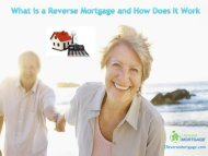 What is a Reverse Mortgage and How Does It Work - Z Reverse Mortgage