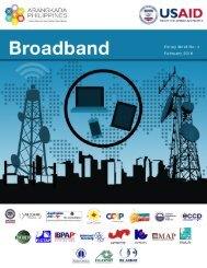 Philippine Broadband A Policy Brief