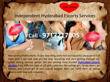Hot Hyderabad Escorts Services