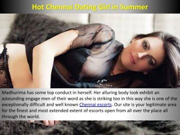 Chennai Dating services by Hot Madhurima