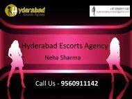 Quality Hyderabad Escorts Services - Neha SHarma