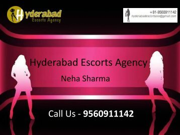 Quality Hyderabad Escorts Services - Neha SHarma