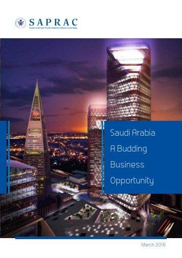 Saudi Arabia Budding Business Opportunity