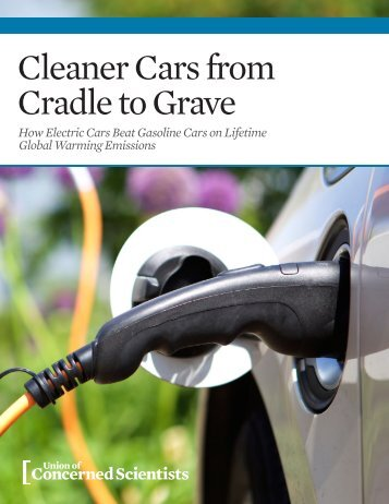 Cleaner Cars from Cradle to Grave