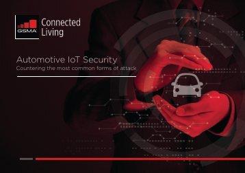Automotive IoT Security
