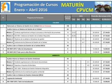 MATURÍN CPVCM