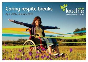 Caring respite breaks