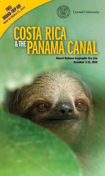 COSTA RICA PANAMA CANAL