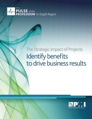 Identify benefits to drive business results