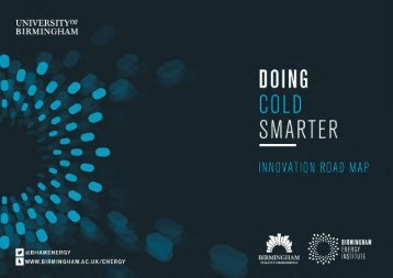 "Birmingham Policy Commission ""Doing Cold Smarter"""