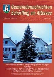 Gemeindenachrichten 03/2010 (976 KB) - Schörfling am Attersee
