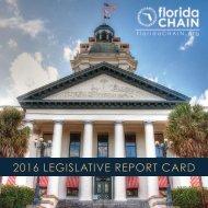 2016 LEGISLATIVE REPORT CARD