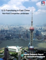U.S Franchising in East China