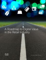 A Roadmap to Digital Value in the Retail Industry