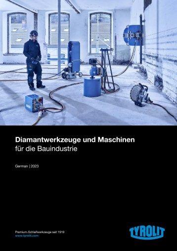 Diamond Tools and Machines 2018 - German
