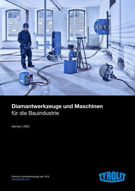 Diamond Tools and Machines 2021 - German