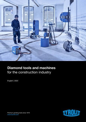 Diamond Tools and Machines 2016 - English