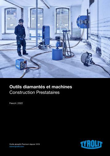 Diamond Tools and Machines 2016 - French